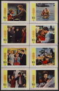 """Movie Posters:Drama, Susan Slade (Warner Brothers, 1961). Lobby Card Set of 8 (11"""" X 14""""). Drama. Starring Troy Donahue, Connie Stevens, Dorothy ... (Total: 8 Items)"""