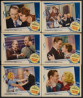 """Movie Posters:Drama, This Side of Heaven (MGM, 1934). Lobby Cards (6) (11"""" X 14""""). Drama. Starring Lionel Barrymore, Fay Bainter, Mae Clarke, Una... (Total: 6 Items)"""