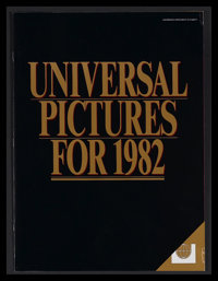 Universal Campaign Book (Universal, 1982). Campaign Book (Multiple Pages). This campaign book was sent out to exhibitors...