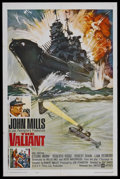 "Movie Posters:War, The Valiant (United Artists, 1962). One Sheet (27"" X 41""). War.Starring John Mills, Ettore Manni, Roberto Risso, Robert Sha..."