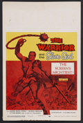 "Movie Posters:Adventure, The Warrior and the Slave Girl (Columbia, 1958). Window Card (14"" X22""). Adventure. Starring Gianna Maria Canale, Georges M..."