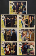 "Movie Posters:Romance, Wharf Angel (Paramount, 1934). Lobby Cards (7) (11"" X 14""). Romance. Starring Victor McLaglen, Dorothy Dell, Preston Foster,... (Total: 7 Items)"