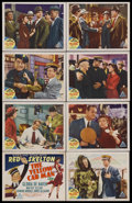 "The Yellow Cab Man (MGM, 1950). Lobby Card Set of 8 (11"" X 14""). Romantic Comedy. Starring Red Skelton, Gloria..."