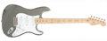 Musical Instruments:Electric Guitars, 1997 Fender Stratocaster Eric Clapton Pewter Electric Guitar,#SN7950073....
