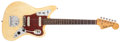 Musical Instruments:Electric Guitars, 1962 Fender Jaguar Blonde Electric Guitar, #73485....