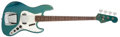 Musical Instruments:Bass Guitars, 1966 Fender Jazz Bass Lake Placid Blue Solid Body Electric Bass Guitar, #145267....