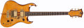 Musical Instruments:Electric Guitars, Circa 1980's Hegina Custom Natural Solid Body Electric Guitar,#N/A....