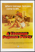 "Movie Posters:Adult, A Teenage Pajama Party Lot (VEP, 1977). One Sheets (4) (25"" X 38"" and 27"" X 41""). Flat Folded. Adult.. ... (Total: 4 Items)"