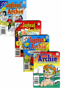 Archie-Related Comics Digests Box Lot (Archie, 1980-95) Condition: Average VF