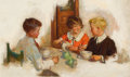Paintings, FREDERIC KIMBALL MIZEN (American, 1888-1964). Every Boy and Girl Needs a Hot Breakfast, Cream of Wheat advertisement, Ma...