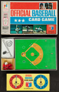 """Baseball Collectibles:Others, 1970 Milton Bradley """"Official Baseball Card Game"""" In Original Box...."""