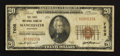 National Bank Notes:Kentucky, Manchester, KY - $20 1929 Ty. 1 The First NB Ch. # 7605. ...