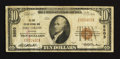 National Bank Notes:Colorado, Fort Collins, CO - $10 1929 Ty. 1 The Fort Collins NB Ch. # 5503....