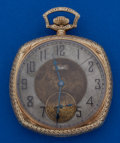 Timepieces:Pocket (post 1900), Elgin 12 Size 14k Gold Pocket Watch. ...