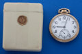Timepieces:Pocket (post 1900), Hamilton 23 Jewel 950 B Pocket Watch With Original Box. ...