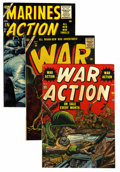 Golden Age (1938-1955):War, Comic Books - Assorted Golden Age War Comics Group (Various,1952-56) Condition: Average VG.... (Total: 14 Comic Books)
