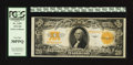 Large Size:Gold Certificates, Fr. 1187 $20 1922 Gold Certificate PCGS Very Fine 30PPQ.. ...