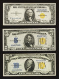 Small Size:World War II Emergency Notes, World War Two North Africa Type Set. Extremely Fine.. ... (Total: 3 notes)