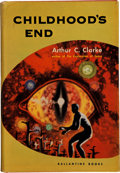 Books:Science Fiction & Fantasy, Arthur C. Clarke. Childhood's End. New York: BallantineBooks, 1953.. First edition. Octavo. 214 pages. . Publis...