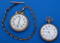 Timepieces:Pocket (post 1900), Two - 16 Size Pocket Watches Runners. ... (Total: 2 Items)