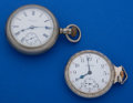 Timepieces:Pocket (post 1900), Two - Running Pocket Watches. ... (Total: 2 Items)