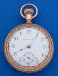 Timepieces:Pocket (post 1900), Illinois 18 Size 17 Jewel Pocket Watch. ...