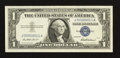 Small Size:Silver Certificates, Low Serial Number Fr. 1619 $1 1957 Silver Certificate. Superb Gem Crisp Uncirculated.. ...