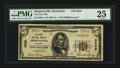 National Bank Notes:Kentucky, Hopkinsville, KY - $5 1929 Ty. 1 The First NB Ch. # 3856. ...