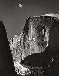 Photographs, ANSEL ADAMS (American, 1902-1984). Moon and Half Dome, 1960. Gelatin silver, circa 1970. 18-7/8 x 14-5/8 inches (47.9 x ...
