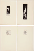 "Books:Children's Books, Palmer Cox. Original Palmer Cox ""Brownie"" Drawings. [N.p. n.d., ca.1890]. . ..."