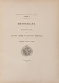 Books:Natural History Books & Prints, Othniel Charles Marsh. Dinocerata. A Monograph of an ExtinctOrder of Gigantic Mammals. Washington: United States Ge...