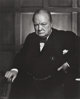 YOUSUF KARSH (Canadian, 1908-2002) Winston Churchill, 1941 Gelatin silver, printed later 23-3/4 x 19 inches (60.3 x 4