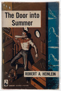 Books:Science Fiction & Fantasy, Robert A. Heinlein. The Door Into Summer. New York: Doubleday, 1957. First edition, first printing. Octavo. 188 page...
