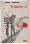 Books:Science Fiction & Fantasy, Robert A. Heinlein. The Menace From Earth. Hicksville: GnomePress, [1959]. First edition, first printing. Octavo. 2...