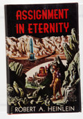 Books:Science Fiction & Fantasy, Robert A. Heinlein. Assignment in Eternity. Reading: Fantasy Press, [1953]. First edition, first printing. Octavo. 2...