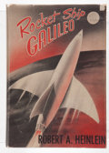 Books:Science Fiction & Fantasy, Robert A. Heinlein. Rocket Ship Galileo. New York: CharlesScribner's Sons, [1947]. First edition, first printing. O...