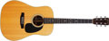 Musical Instruments:Acoustic Guitars, 1976 Martin D-28 Natural Acoustic Guitar, #387697. ...