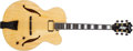 Musical Instruments:Electric Guitars, Modern D'Aquisto Jazz Line Natural Hollow Body Archtop ElectricGuitar, #N/A....