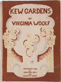 Books:Literature 1900-up, Virginia Woolf. Kew Gardens. Decorated by Vanessa Bell.[London]: Hogarth Press, [1927].. Limited edition, num...