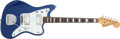 Musical Instruments:Electric Guitars, 1973 Fender Jazzmaster Blue Electric Guitar, #424209....