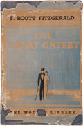 Books:Literature 1900-up, F. Scott Fitzgerald. The Great Gatsby. New York: The Modern Library, [1934].. First Modern Library edition, with t...