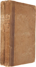 Books:Literature Pre-1900, Washington Irving. The Alhambra: a Series of Tales and Sketches of the Moors and Spaniards. By the Author of the... (Total: 2 Items)