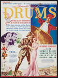 "Movie Posters:Adventure, Drums (United Artists, 1938). Heralds (3) (4.5"" X 9"" , 6"" X 17.5"",and 9"" X 12""). Adventure.. ... (Total: 3 Items)"