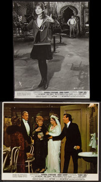 """Funny Girl (Columbia, 1968). Photos (9) and Mini Lobby Card (8"""" X 10""""). Musical. ... (Total: 10 Items)"""
