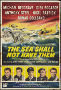 """Movie Posters:War, The Sea Shall Not Have Them Lot (United Artists, 1954). British OneSheets (2) (27"""" X 40""""). War.. ... (Total: 2 Items)"""