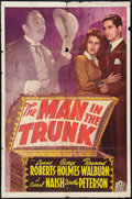 "Movie Posters:Mystery, The Man in the Trunk (20th Century Fox, 1942). One Sheet (27"" X41""). Mystery.. ..."