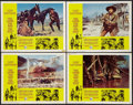 """Movie Posters:Western, The Good, the Bad and the Ugly (United Artists, 1968). Lobby Cards (4) (11"""" X 14""""). Western.. ... (Total: 4 Items)"""