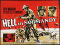 "Movie Posters:War, Hell in Normandy (Crispin Films, 1968). British Quad (30"" X 40"").War.. ..."
