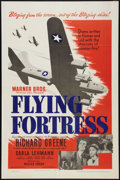 "Movie Posters:War, Flying Fortress (Warner Brothers, 1942). One Sheet (27"" X 41"").War.. ..."