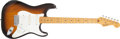 Musical Instruments:Electric Guitars, 1982 Fender Stratocaster Sunburst Electric Guitar, # V000451....